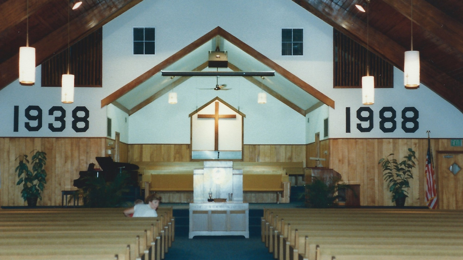 1988 choir loft modified 1988
