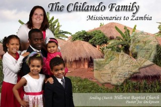Missionaries to Zambia